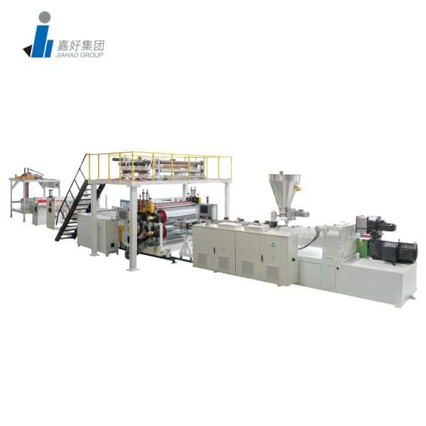 SPC弹性地板生产线