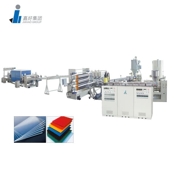 ABS,PS,PP,PE,PC,PMMA Single & Multi-Layer Sheet Production line Luggage Sheet Production Line