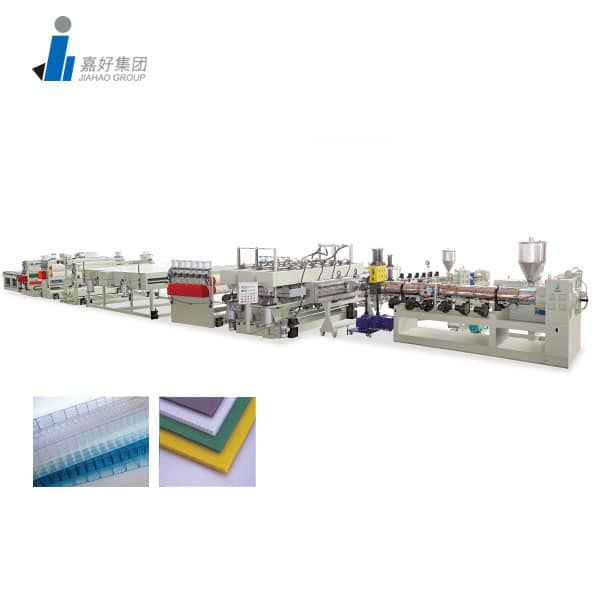 PC, PP, PE Hollow Shet Production Line