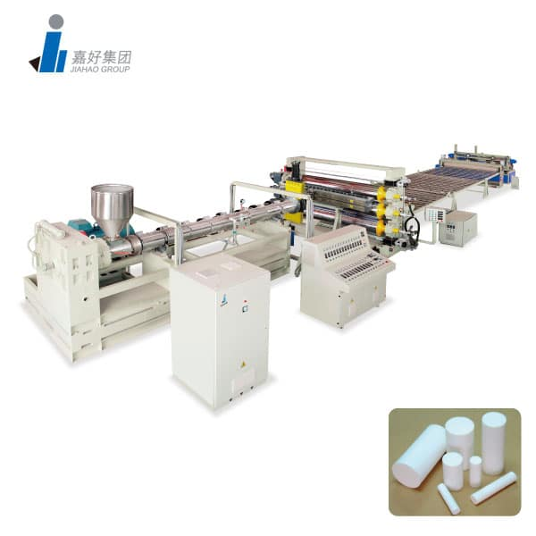 PP, PE, POM, PA ROD Production line