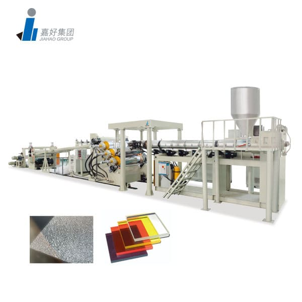 PS, PMMA, PC, PET, EVA Single Layer / Multi-Layer Sheet Production Line