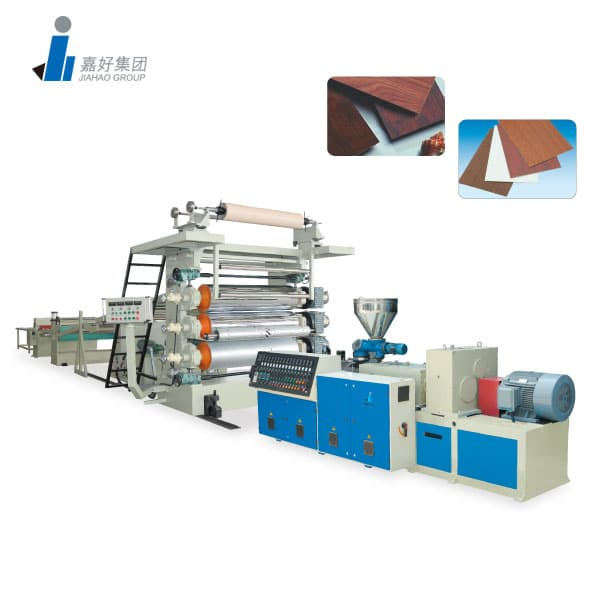 PVC Decorative SHEET / PVT Marble Sheet Line