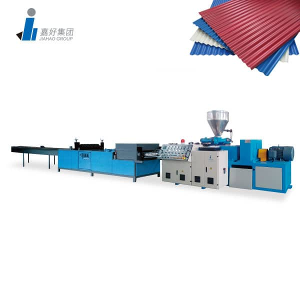PVC Glazed Tile Production Line