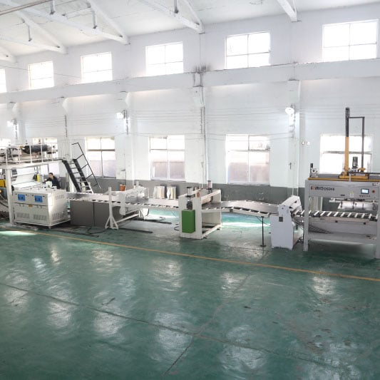 SPC Flooring extrusion equipment