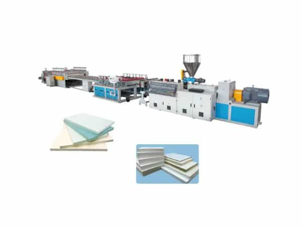PVC/WPC FOAM BOARD EXTRUSION LINE OPERATION INSTRUCTION -JIAHAO MACHINERY
