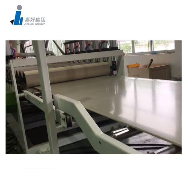 WPC Flooring Machine