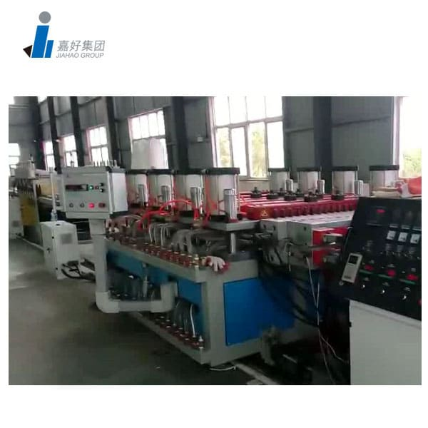 WPC Tile Flooring Production Line