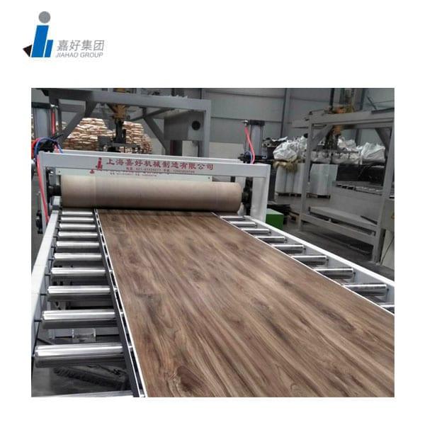 LVT Flooring making machine